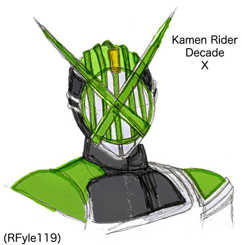 File:Kamen Rider Decade X Close up colouring.jpg