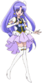 Happiness Charge Pretty Cure! Movie Cure Fortune pose