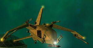Civilian CTE-6000 Eagle Very Heavy Fighter 2