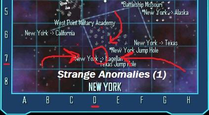 New York Anomalies Location