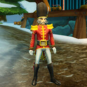 Toy soldier outfit