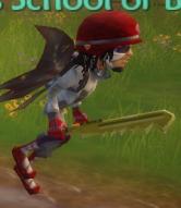 Mega Saw held