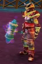 Rainbow Hammer held