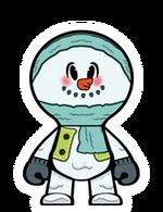 Snowman Bandana
