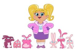 Fresh Beat Band of Spies Squee Z Dumpkins and the Fuzzy Lumpkins Nickelodeon