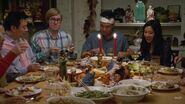Having a feast