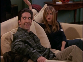 Rachel and Ross on Couch-5x16