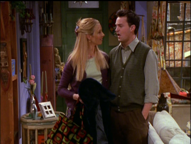 File:Phoebe Flirts With Chandler.png