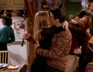 Joey and Rachel's First Kiss