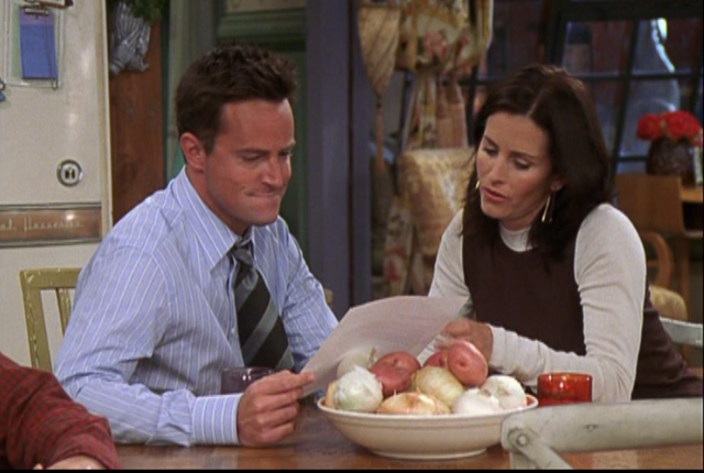 File:Monica and Chandler look at Recommendation Letter (10x05).png