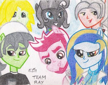 Equestria girls ray team