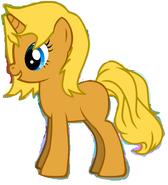Sasha pony blank
