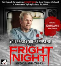 You're So Cool Brewster The Story of Fright Night - Tom Holland