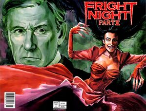 Fright Night the Comic Series Part 2 Front and Back