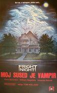 Fright Night 1985 Yugoslavian Poster