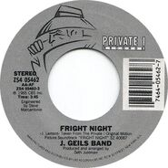 J Geils Band Fright Night 45 03