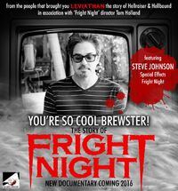 You're So Cool Brewster The Story of Fright Night - Steve Johnson