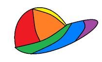 Rainbowballcap