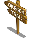 Oregon Trail Sign-icon