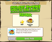 Enjoy Some Tasty French Fries! Complete