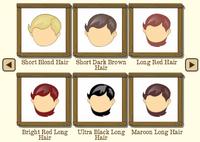 Female Hair 4