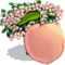 White Peach Tree-icon