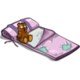 Pink Bed Roll-icon