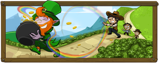 St. Patrick's Day Event Banner