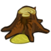 Damp Tree Trunk-icon