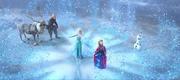Elsa begins the thaw