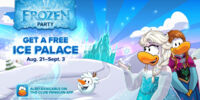 Club Penguin Frozen Party