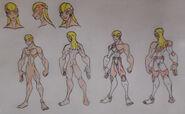 Ajax Bath (Achilles Heels), Hyde anatomay and attire