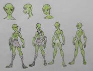 Rouhan, Goblin attire and Anatomy (censored)