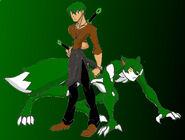 Howen Stark, the Samurai Wolf