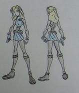Claudia Lavendez, MONSters uniform