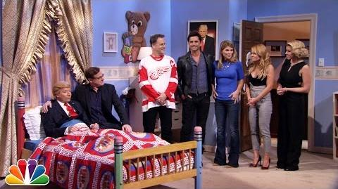 """""""Fuller House"""" Cast Has Heart-to-Heart with Donald Trump (Jimmy Fallon)"""