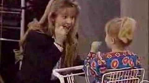 Full House D.J. Tanner sings to Michelle