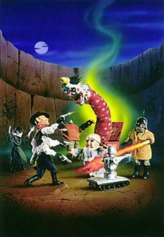 File:Puppet Master vs. Demonic Toys Original Poster.png