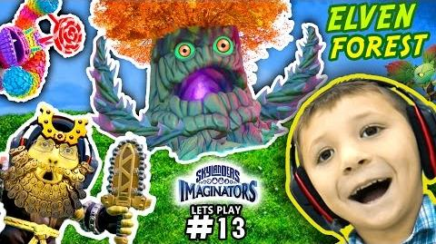 WORST GAME GLITCH IN HISTORY! Enchanted Elven Forest Adventure Pack (SKYLANDERS IMAGINATORS Pt 13)