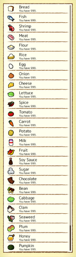 Walk-A-Funghi - Ingredient Library