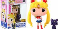Sailor Moon w/ Moon Stick & Luna