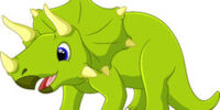 Timmy the triceratops