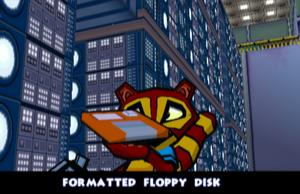 FormattedFloppyDiskVR