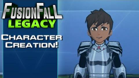 FusionFall Legacy - Character Creation