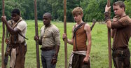 Maze-Runner-Alby-Aml-Ameen-Gally-Will-Poulter-Newt-Thomas-Brodie-Sangster