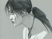 Portrait of lara croft by characterundefined-d5tnann