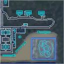 Bravo Beach Map