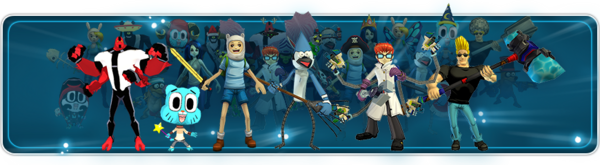 FusionFall Heroes characters
