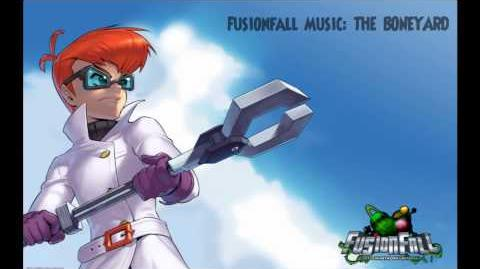 Fusionfall Music - The Boneyard(Infected Zone)