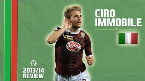 CIRO IMMOBILE Goals, Skills, Assists Torino 2013 2014 (HD)